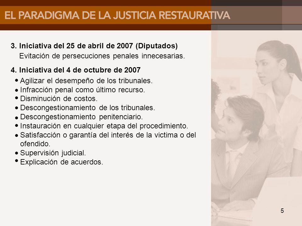 3. Iniciativa del 25 de abril de 2007 (Diputados)