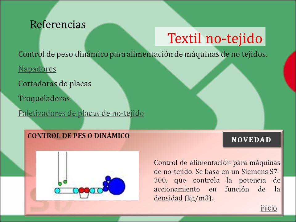 Textil no-tejido Referencias