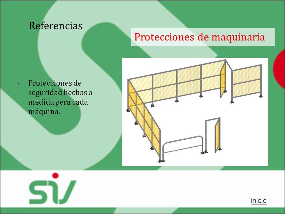 Protecciones de maquinaria