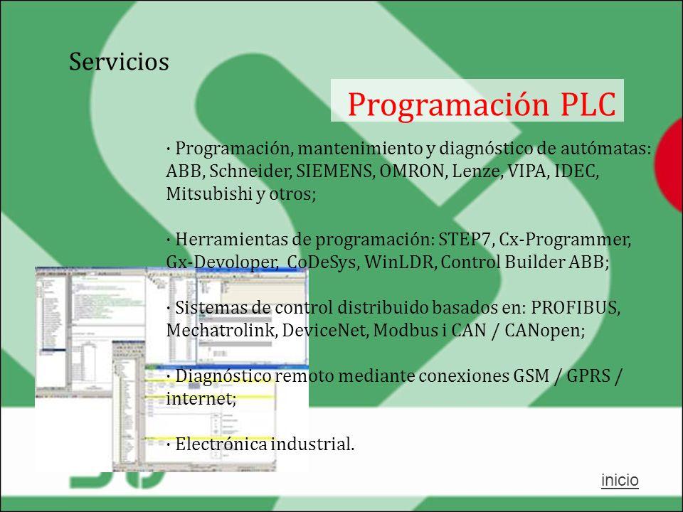 Programación PLC Servicios