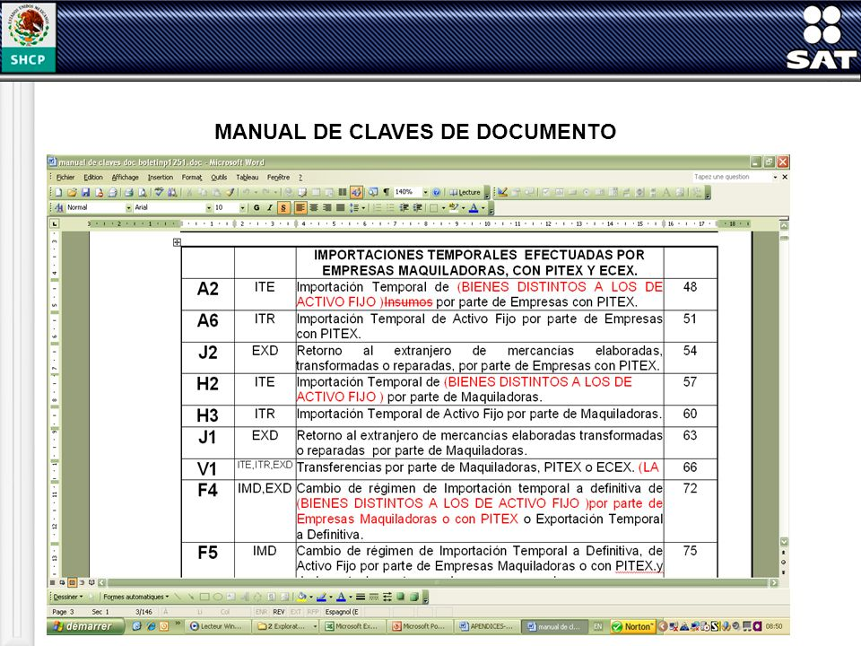 MANUAL DE CLAVES DE DOCUMENTO