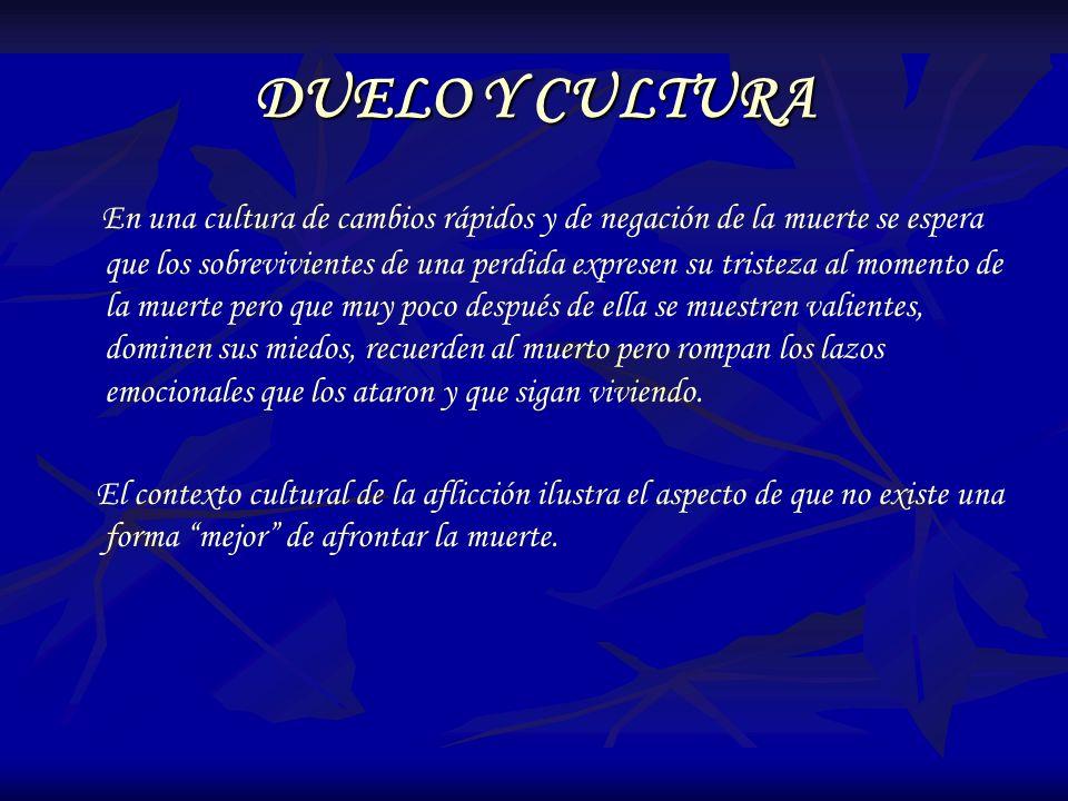 DUELO Y CULTURA