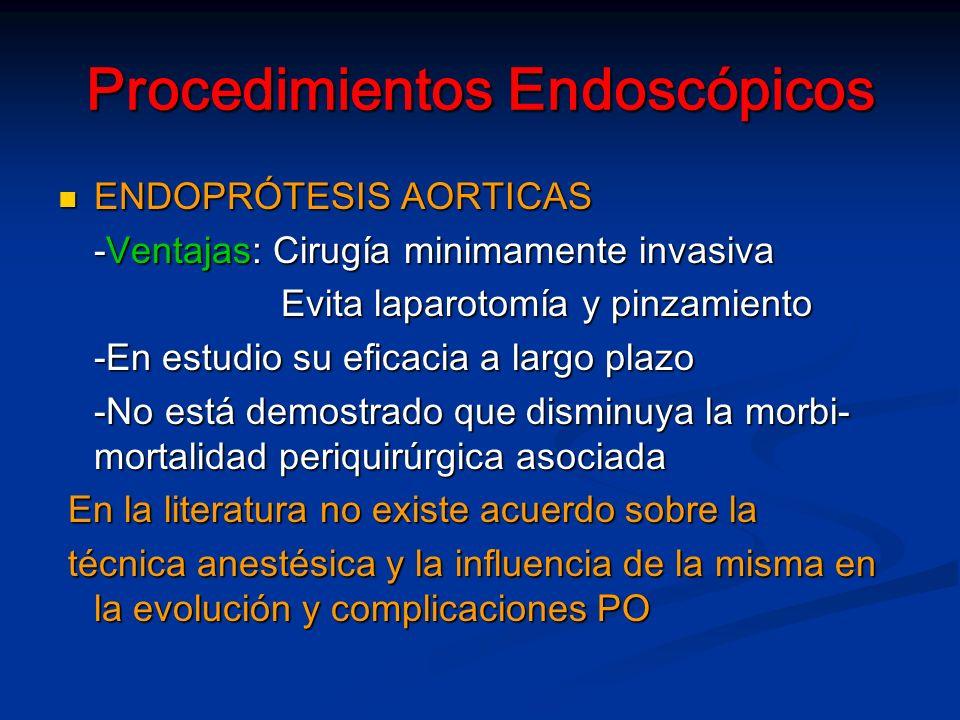 Procedimientos Endoscópicos