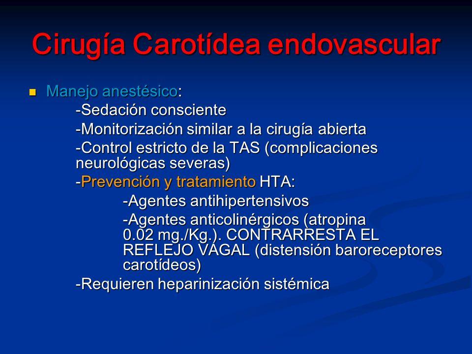 Cirugía Carotídea endovascular