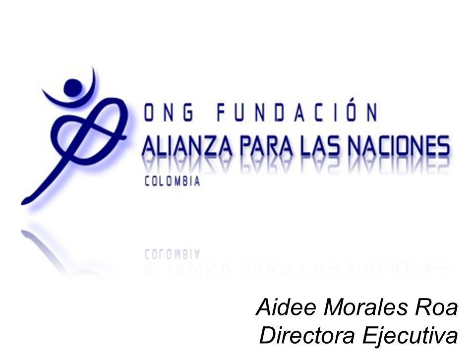 Aidee Morales Roa Directora Ejecutiva