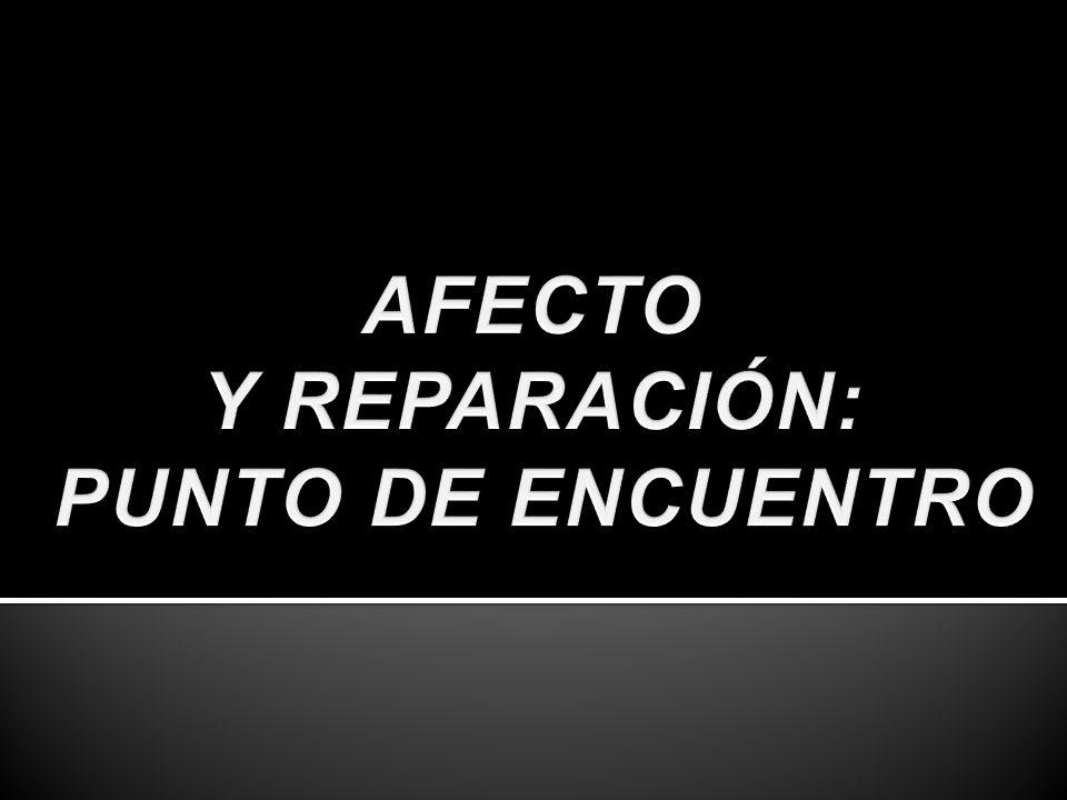 Y REPARACIÓN: PUNTO DE ENCUENTRO