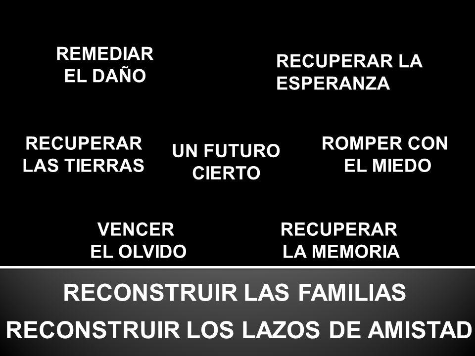 RECONSTRUIR LOS LAZOS DE AMISTAD