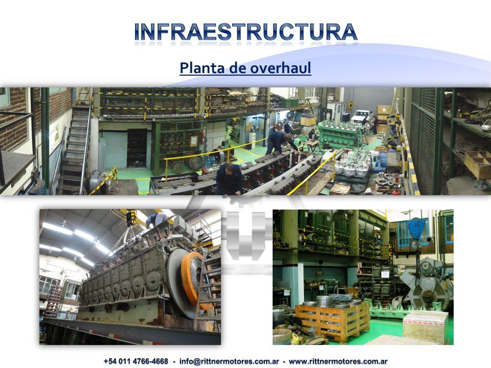 Infraestructura Planta de overhaul