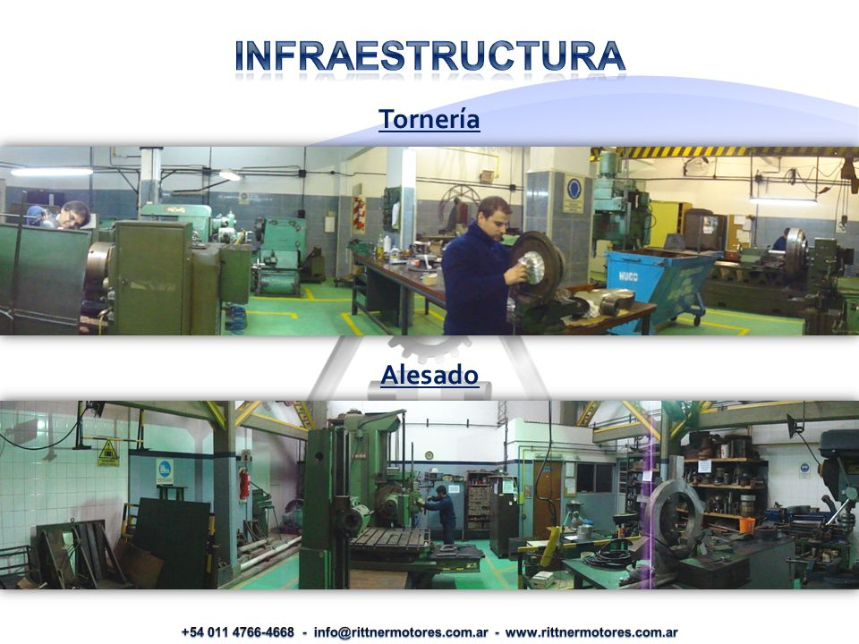 Infraestructura Tornería Alesado