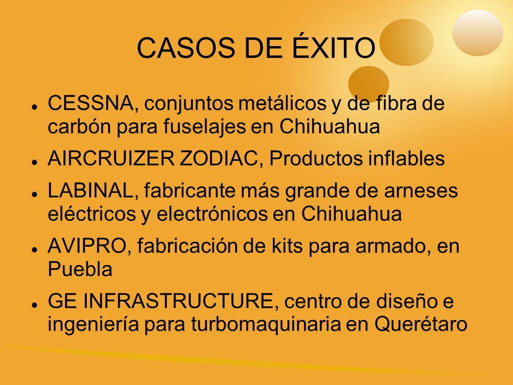 CASOS DE ÉXITO CESSNA, conjuntos metálicos y de fibra de carbón para fuselajes en Chihuahua. AIRCRUIZER ZODIAC, Productos inflables.