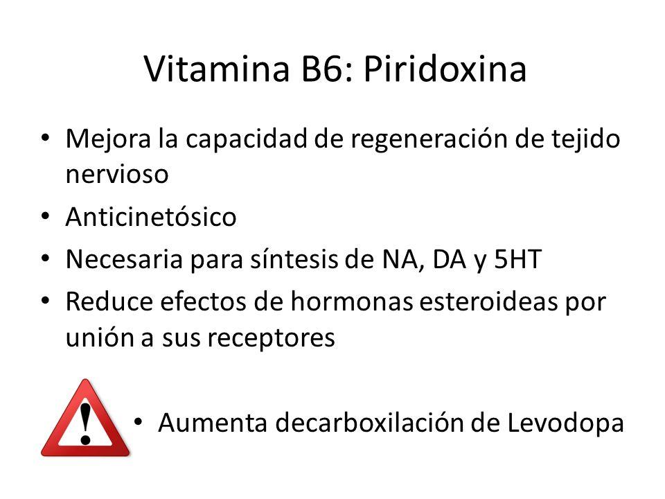Vitamina B6: Piridoxina