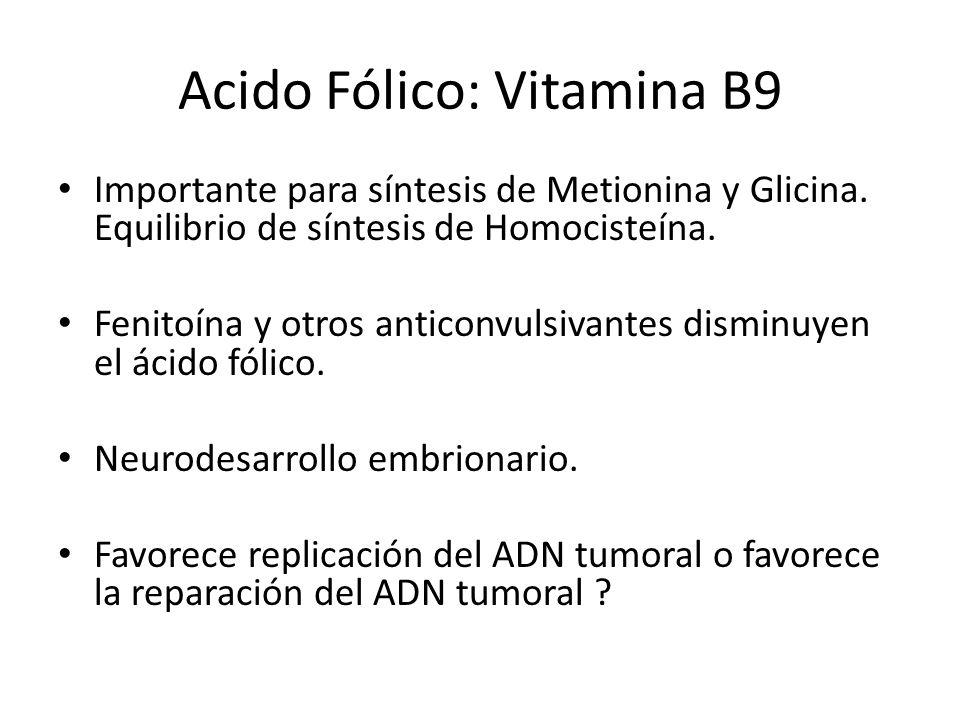Acido Fólico: Vitamina B9