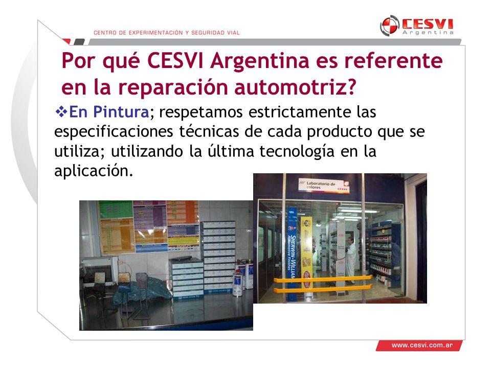 Por qué CESVI Argentina es referente en la reparación automotriz