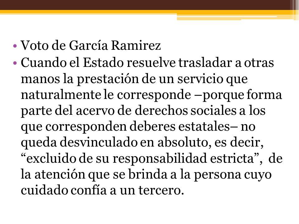 Voto de García Ramirez