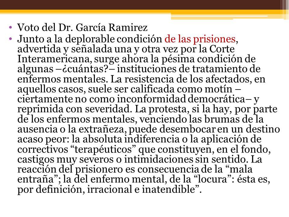 Voto del Dr. García Ramirez