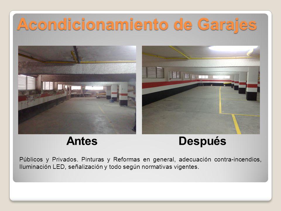 Acondicionamiento de Garajes