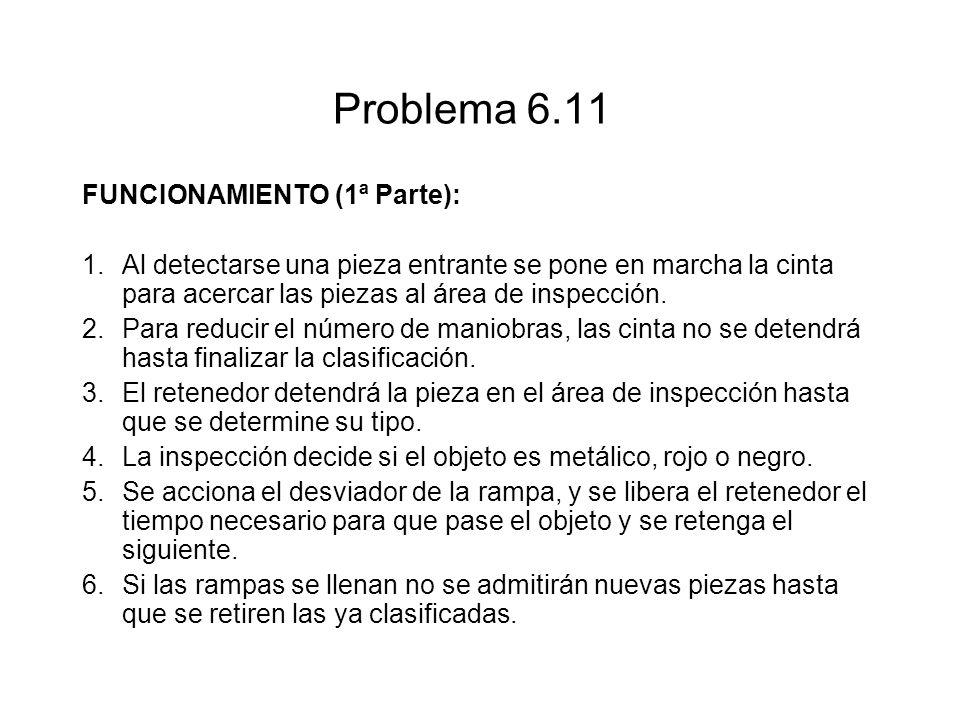 Problema 6.11 FUNCIONAMlENTO (1ª Parte):