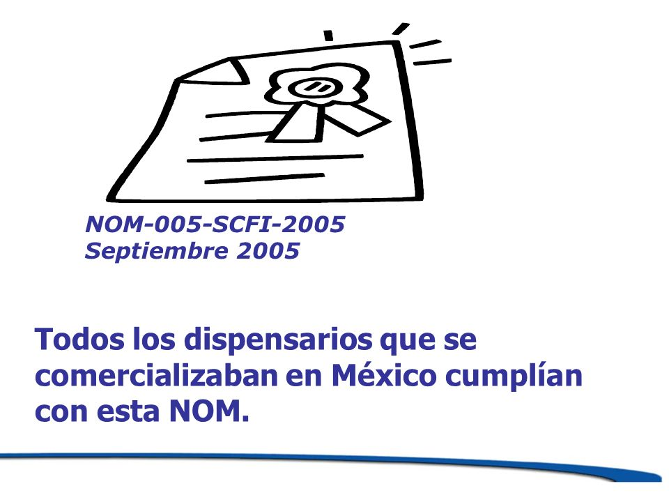 NOM-005-SCFI-2005 Septiembre 2005.
