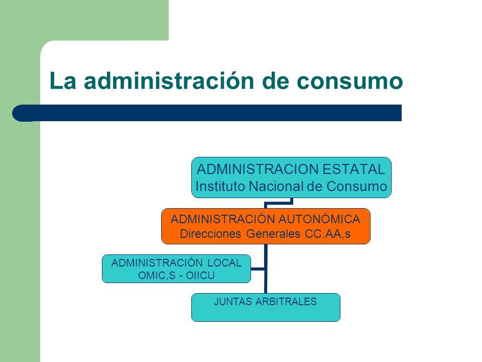 La administración de consumo