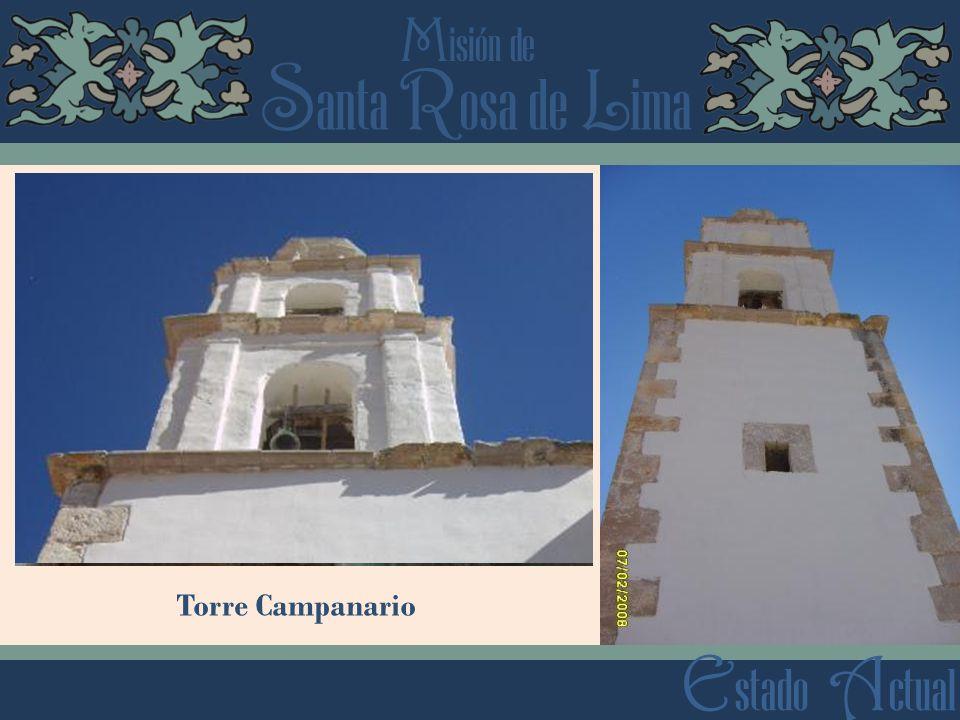 Torre Campanario Estado Actual