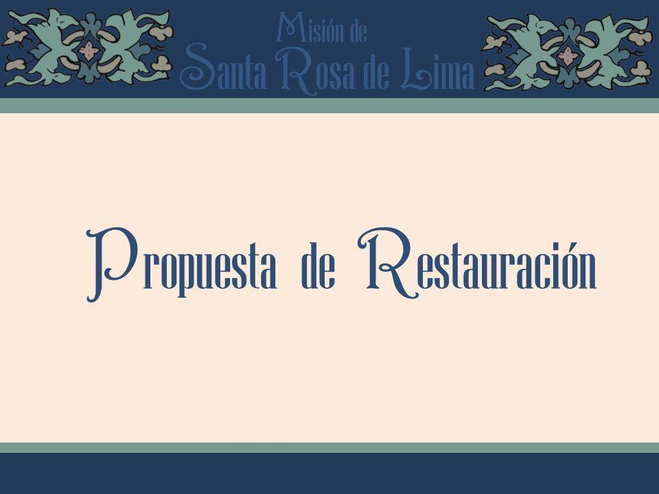 Propuesta de Restauración