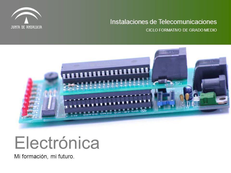 Electrónica Instalaciones de Telecomunicaciones
