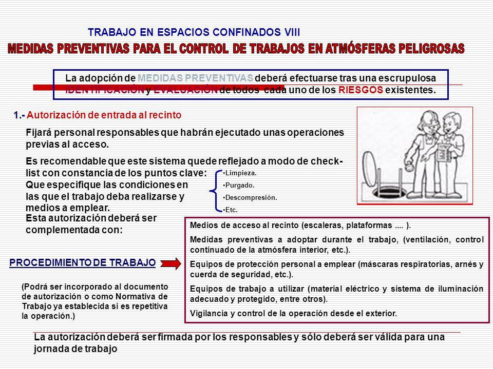 TRABAJO EN ESPACIOS CONFINADOS VIII