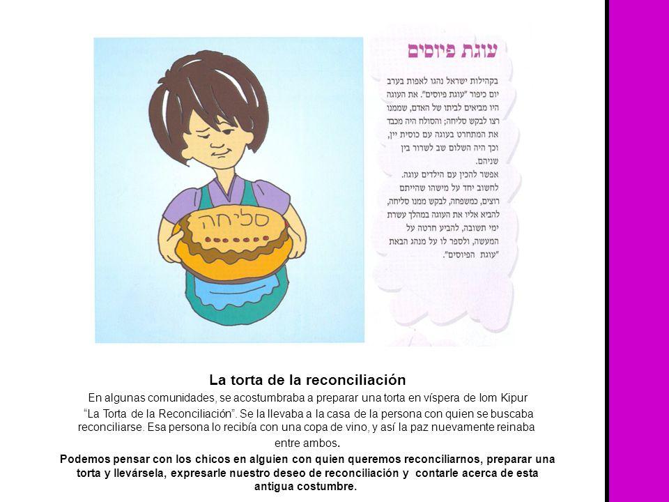La torta de la reconciliación