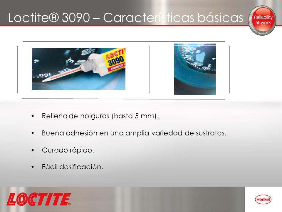 Loctite® 3090 – Características básicas
