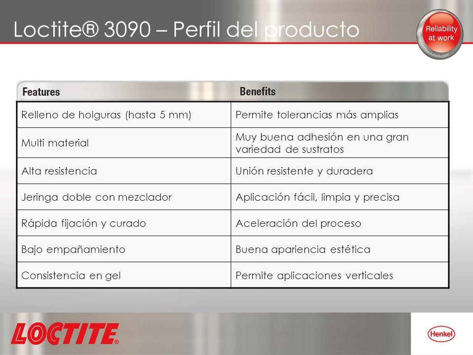Loctite® 3090 – Perfil del producto