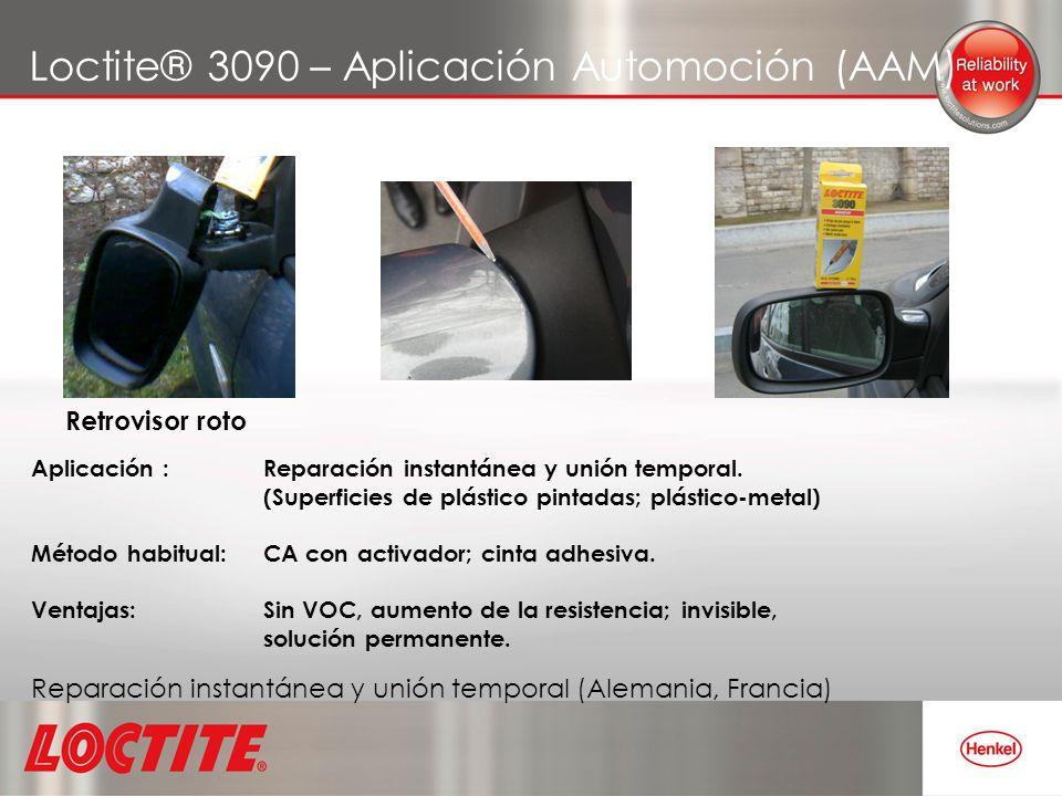 Loctite® 3090 – Aplicación Automoción (AAM)