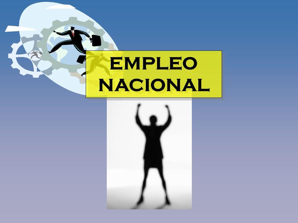 EMPLEO NACIONAL
