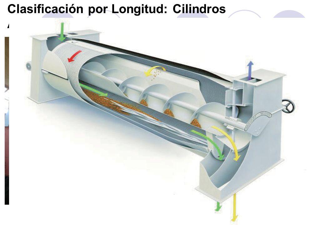 Clasificación por Longitud: Cilindros Alveolados y Acanalados