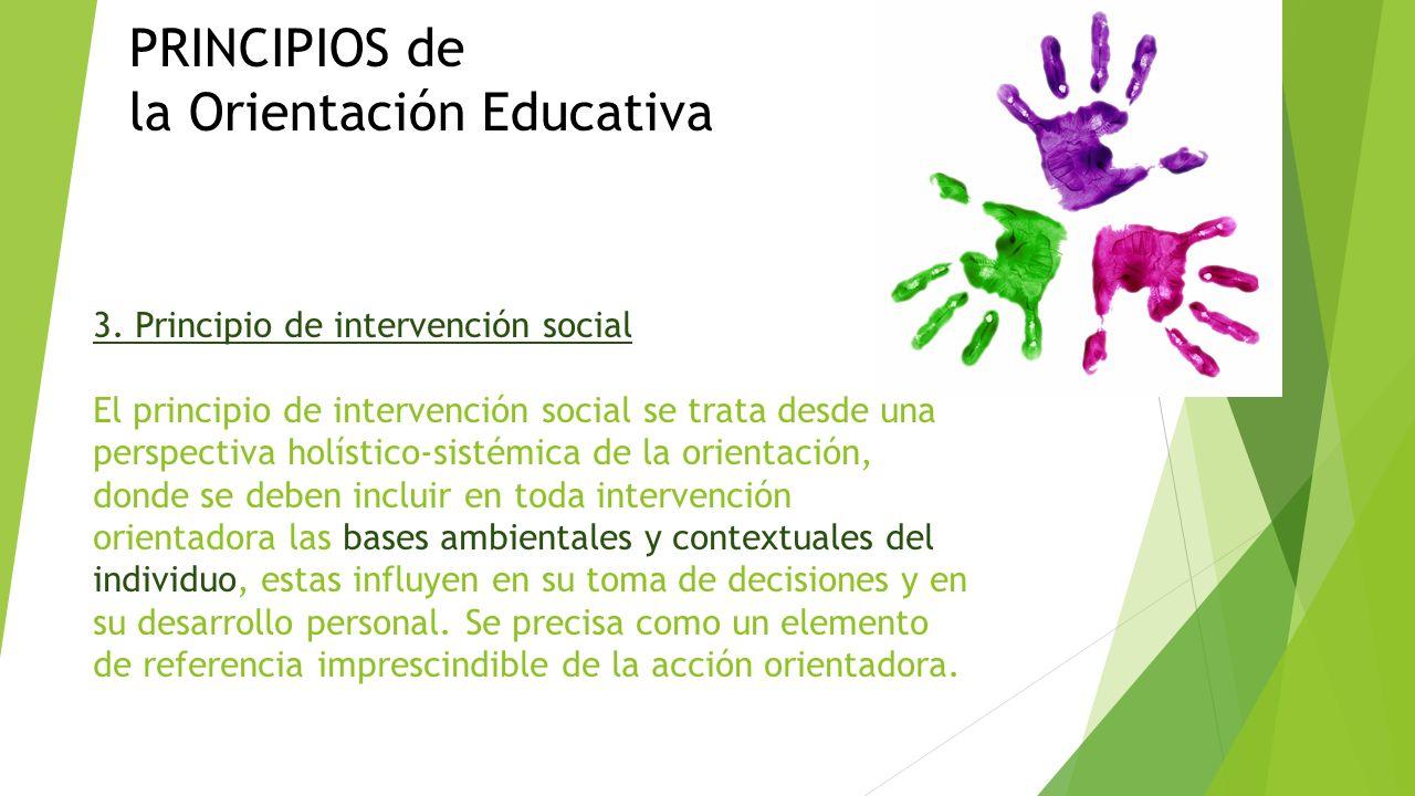 Objetivos principios y funciones de la orientaci n for La accion educativa en el exterior