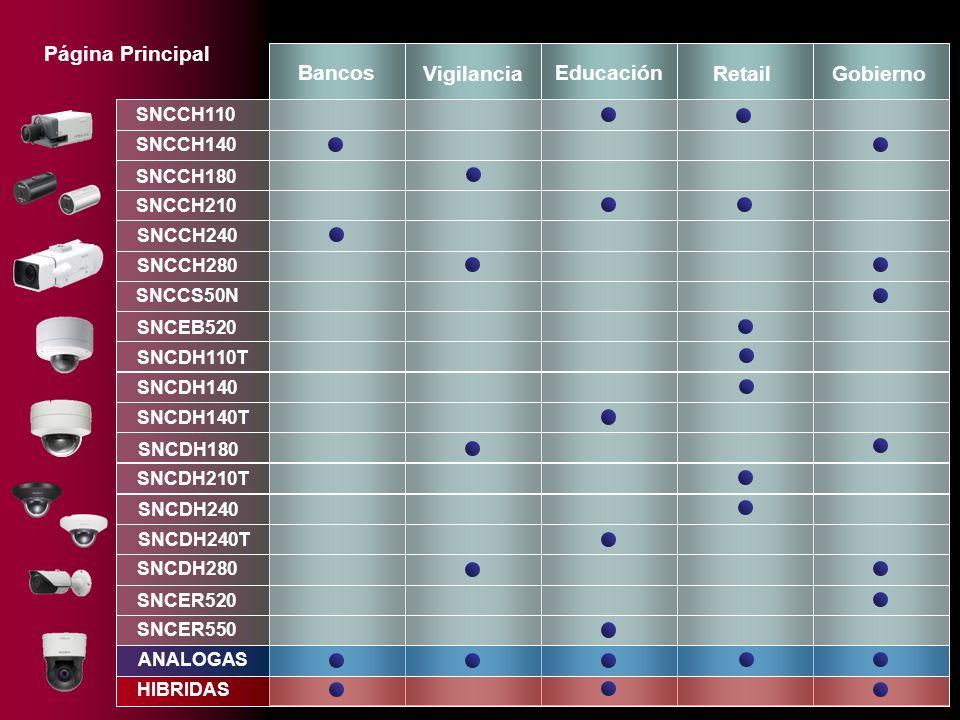 Página Principal Bancos Vigilancia Educación Retail Gobierno SNCCH110