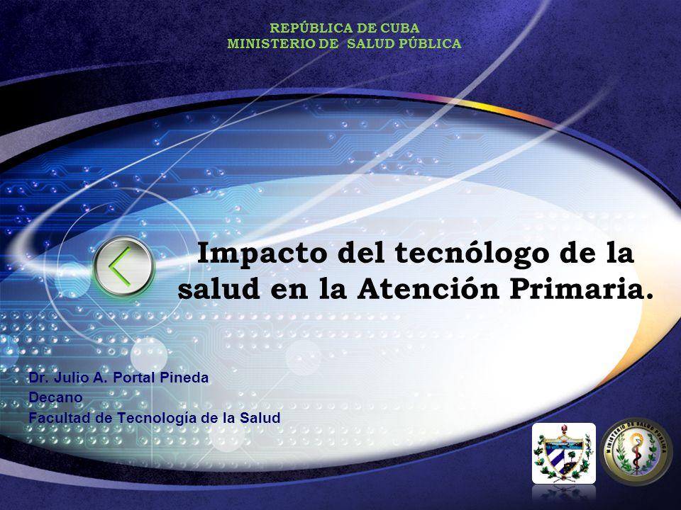 Impacto del tecnólogo de la salud en la Atención Primaria.