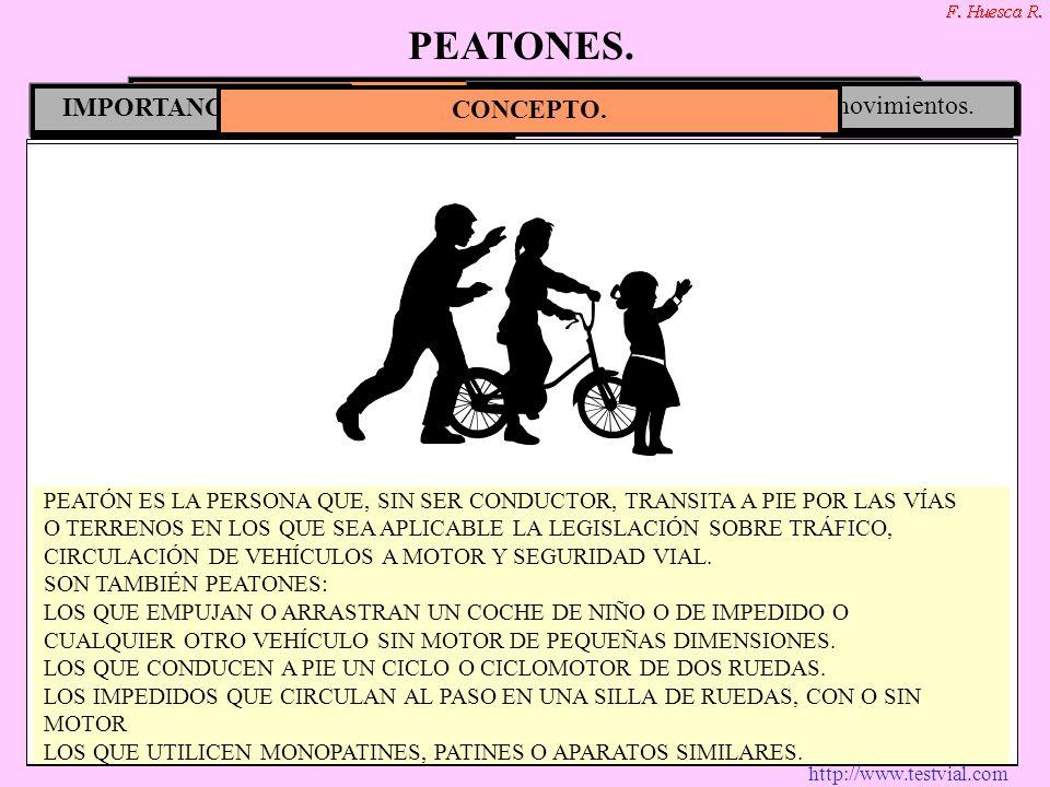 PEATONES. COMO NORMA GENERAL CIRCULARÁN POR LA
