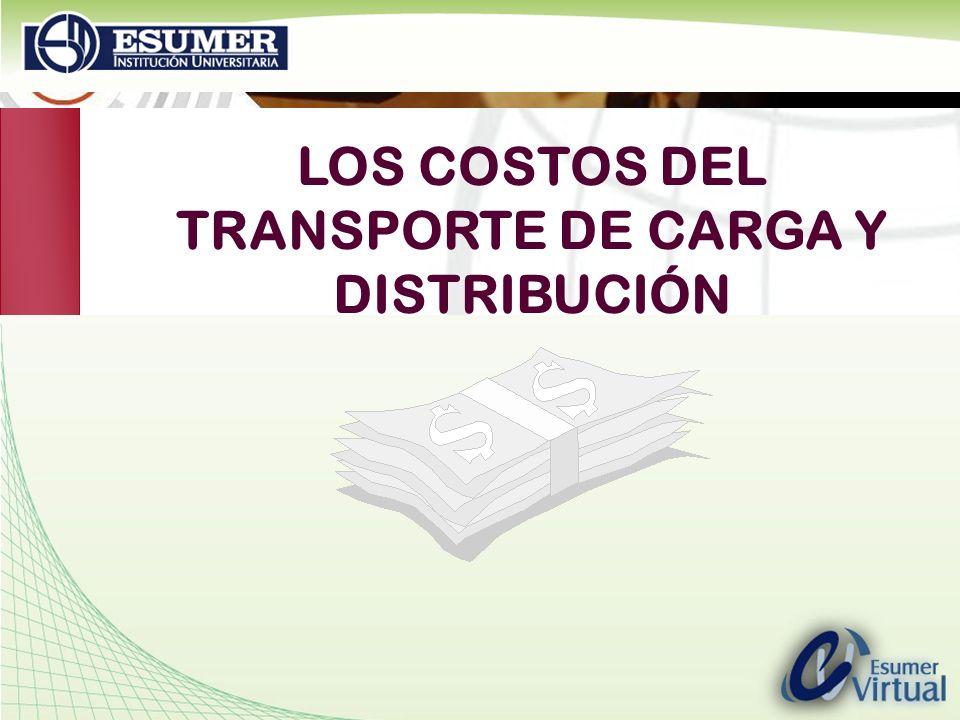 TRANSPORTE DE CARGA Y DISTRIBUCIÓN