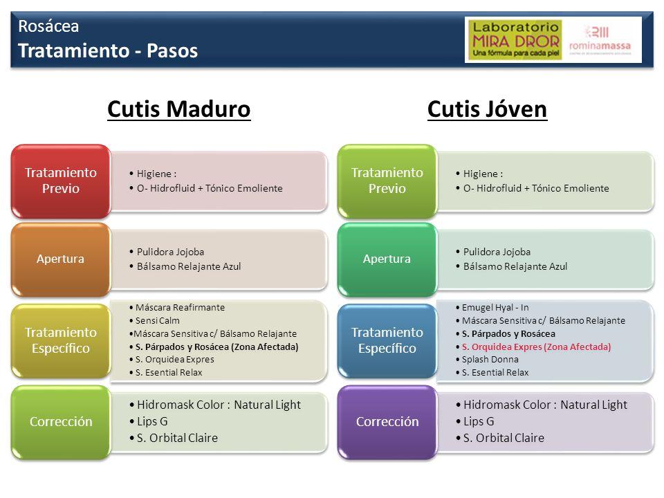 Cutis Maduro Cutis Jóven Tratamiento - Pasos Rosácea