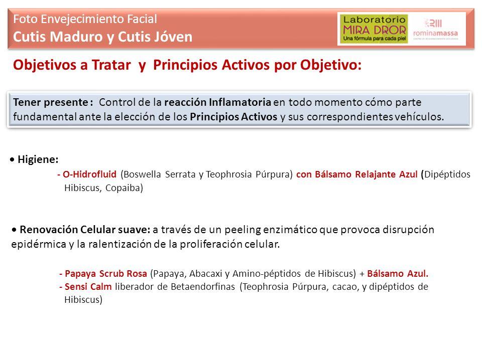 Cutis Maduro y Cutis Jóven
