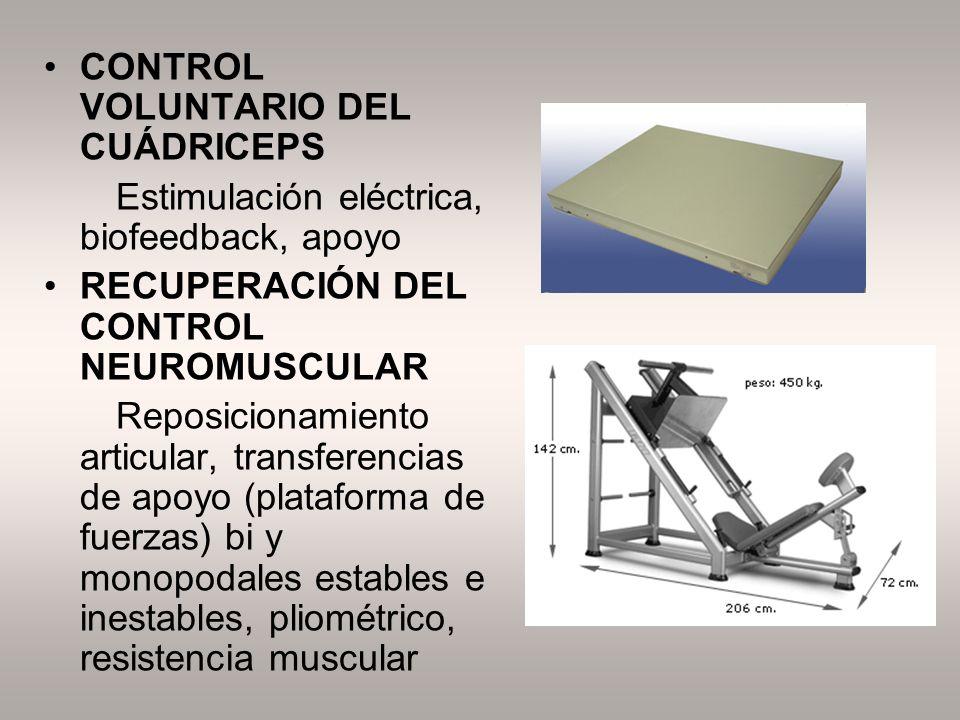 CONTROL VOLUNTARIO DEL CUÁDRICEPS