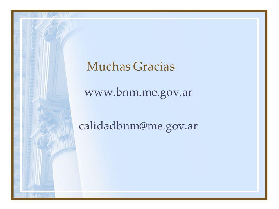 www.bnm.me.gov.ar calidadbnm@me.gov.ar
