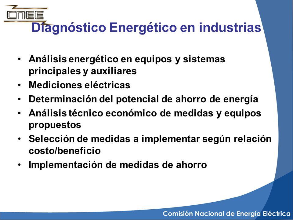 Diagnóstico Energético en industrias