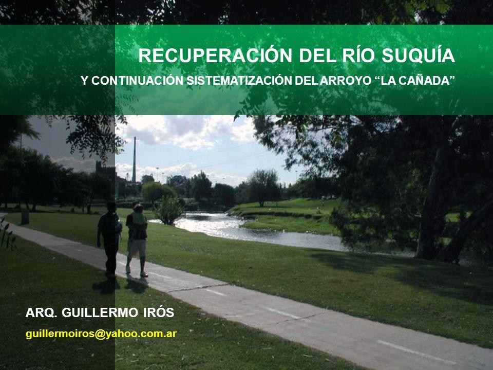 RECUPERACIÓN DEL RÍO SUQUÍA