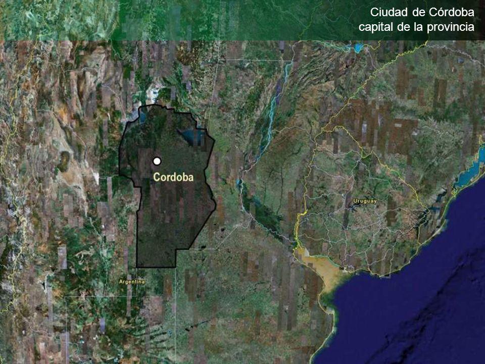 Ciudad de Córdoba capital de la provincia