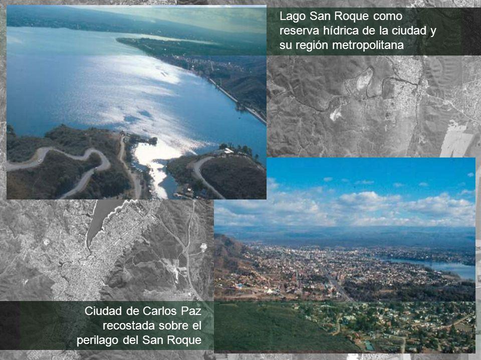 Lago San Roque como reserva hídrica de la ciudad y su región metropolitana