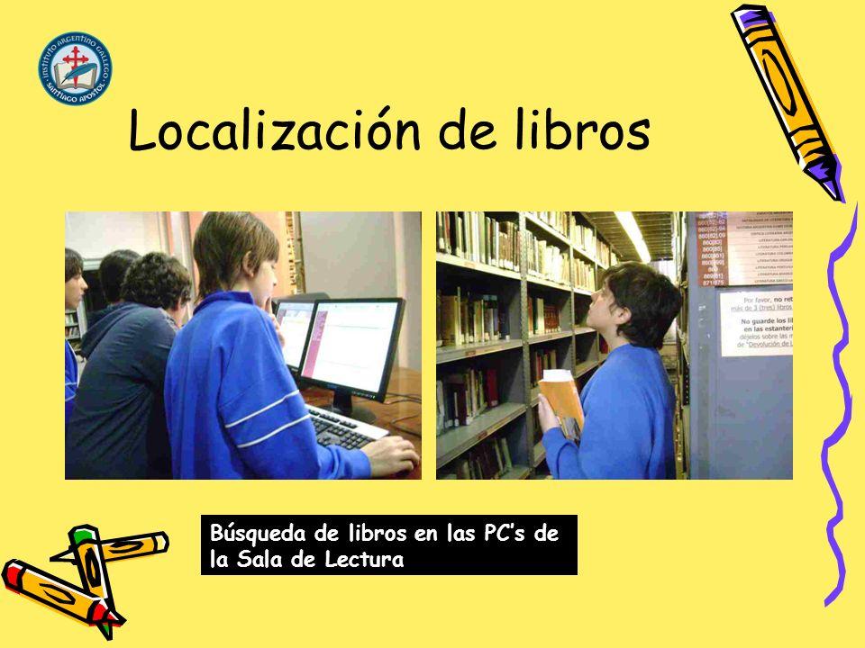 Localización de libros
