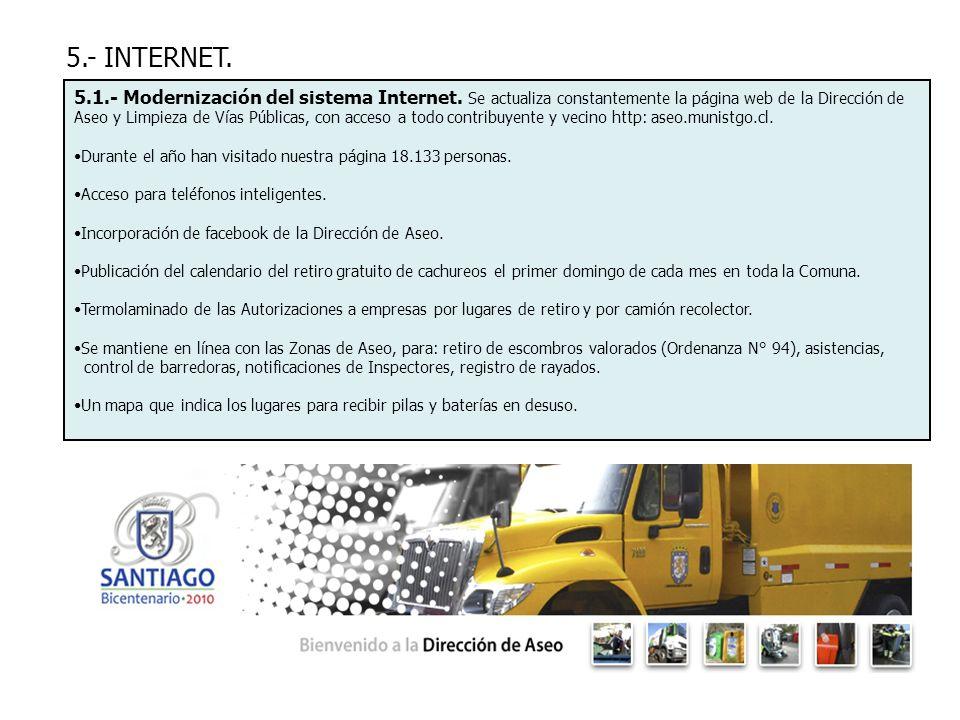5.- INTERNET.
