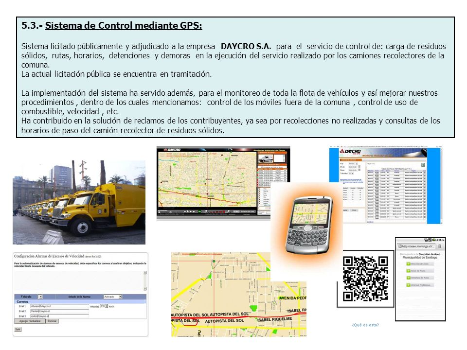 5.3.- Sistema de Control mediante GPS: