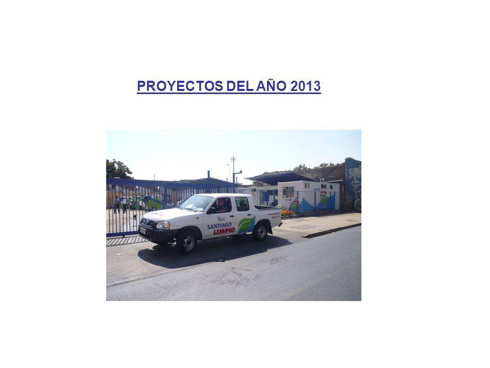 PROYECTOS DEL AÑO 2013